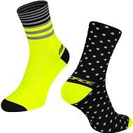 Force SPOT černá/žlutá 42-46 EU - Ponožky