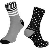 Force SPOT černá/šedá - Ponožky