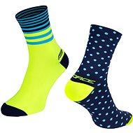 Force SPOT modrá/žlutá - Ponožky