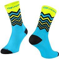 Force WAVE žlutá/modrá - Ponožky