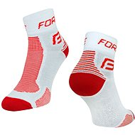 Force 1 white / red 42-47 EU - Socks