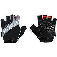 Cyklistické rukavice Force RIVAL, černo-šedé