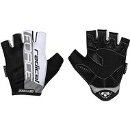 Force RADICAL, Grey-White-Black - Cycling Gloves
