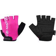 Cyklistické rukavice Force KID, růžové