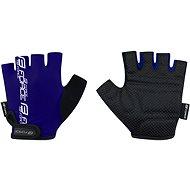 Cyklistické rukavice Force KID, modré XL