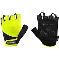 Force GEL, Fluo-Black - Cycling Gloves