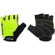Cyklistické rukavice Force TERRY, fluo