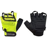 Cyklistické rukavice Force SPORT, fluo