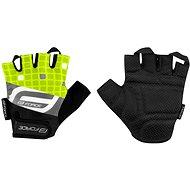 Force SQUARE, fluo - Cyklistické rukavice