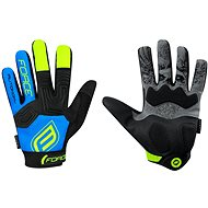 Force MTB AUTONOMY, Black-Blue - Cycling Gloves