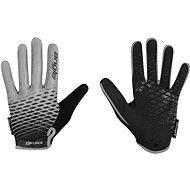 Force KID MTB ANGLE, šedo-černé - Cyklistické rukavice