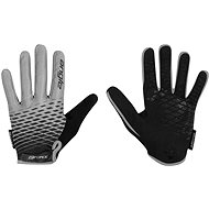 Force MTB ANGLE, Grey-Black - Cycling Gloves