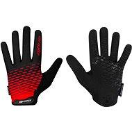 Cyklistické rukavice Force MTB ANGLE, červeno-černé