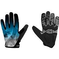 Cyklistické rukavice Force MTB CORE, modré