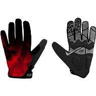 Cyklistické rukavice Force MTB CORE, červené