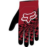 Fox Flexair Glove červená 2X - Cyklistické rukavice