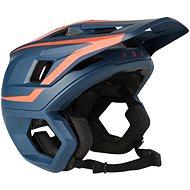 Helma na kolo Fox Dropframe Pro Helmet modrá / červená