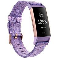 Fitbit Charge 3, Lavender Woven/Rose-Gold, Aluminium - Fitness Bracelet