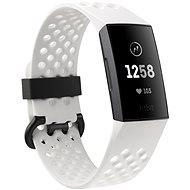 Fitbit Charge 3 Frost White Sport / Graphite Aluminium - Fitness Bracelet