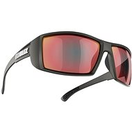 Bliz Drift, Matte Black Smoke, W, Red Multi - Glasses