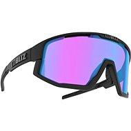 Cyklistické brýle Bliz FUSION NANO OPTICS Matt Black Nordic Light Begonia - Violet w Blue Multi Cat.2