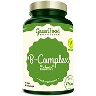 GreenFood Nutrition B-Komplex Lalmin 60 kapslí - Vitamín