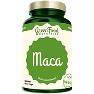 GreenFood Nutrition Maca 120 kapslí - Superfood