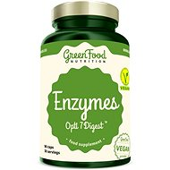 GreenFood Nutrition Enzymes Opti 7 Digest, 90 Capsules - Superfood