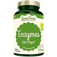 GreenFood Nutrition Enzymy Opti 7 Digest 90 kapslí - Doplněk stravy