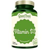 GreenFood Nutrition Vitamín D3 60 kapslí - Vitamín