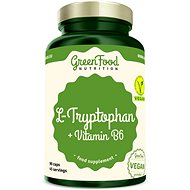 GreenFood Nutrition L-Tryptophan 90 kapslí - Aminokyseliny