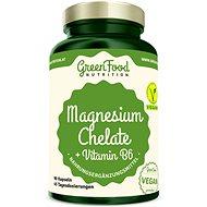 GreenFood Nutrition Magnesium Chelát 90 kapslí - Minerály