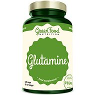 GreenFood Nutrition Glutamine, 120 Capsules - Amino Acids
