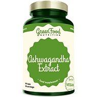 GreenFood Nutrition Ashwagandha Extract 90 kapslí - Superfood