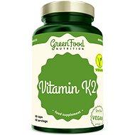 GreenFood Nutrition Vitamin K2 60 kapslí - Minerály