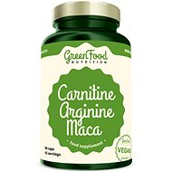 GreenFood Nutrition Carnitine Arginine Maca 90cps - Fat burner