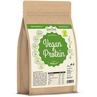 GreenFood Nutrition Vegan protein příchuť vanilka 750g - Protein