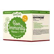 GreenFood Nutrition Box Immunity + Pillbox - Sada doplňků stravy