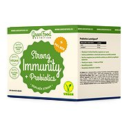 GreenFood Nutrition Strong Immunity & Probiotics + Pillbox