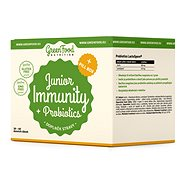 GreenFood Nutrition Junior Immunity & Prebiotics + PillBox