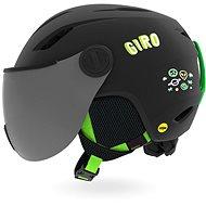 GIRO Buzz MIPS Mat Black/Bright Green Alien S - Lyžařská helma