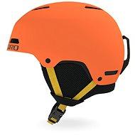 GIRO Crue Mat Deep Orange S - Lyžařská helma