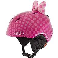 GIRO Launch Plus Pink Bow Polka Dots - Lyžařská helma
