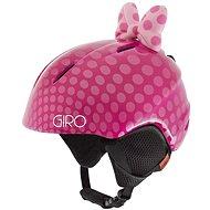 GIRO Launch Plus Pink Bow Polka Dots vel. S - Lyžařská helma