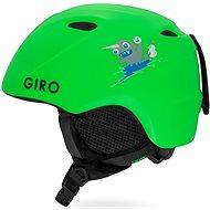 GIRO Slingshot Mat Bright Green XS/S - Lyžařská helma