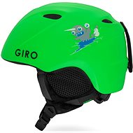 GIRO Slingshot Mat Bright Green - Lyžařská helma