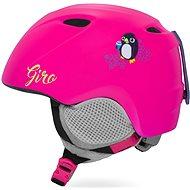 GIRO Slingshot Mat Bright Pink Penguin - Lyžařská helma