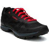 GIRO Gauge Black/Bright Red 39 - Cyklistické tretry