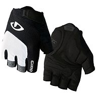 GIRO Bravo White/Black - Cyklistické rukavice