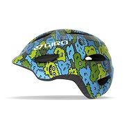 GIRO Scamp Blue/Green Creature Camo - Helma na kolo